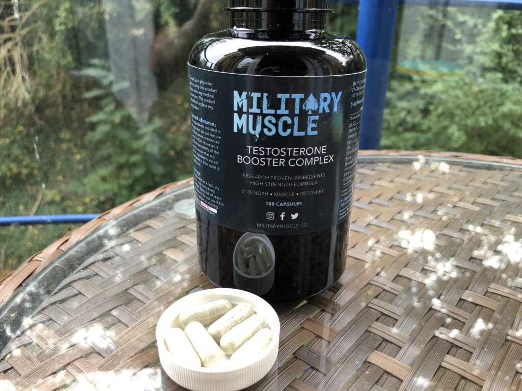 military muscle reviews uk